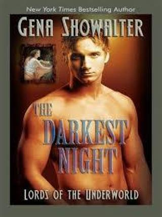 The Darkest Night (Lords of Underworld #1) by Gena Showalter (PB/GFC) (Paranormal/Erotica) #LLP5D9
