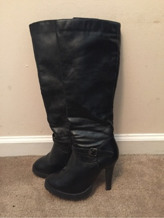 Size 6 Black Boots