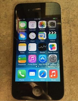 iPhone 4 no iCloud lock