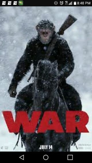 War of the planets of the apes hd Vudu/uv code