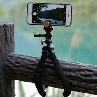 Flexible Tripod Stand Mount Gorilla Monopod Holder Octopus