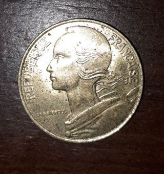 20 Francaise Collectable Coin