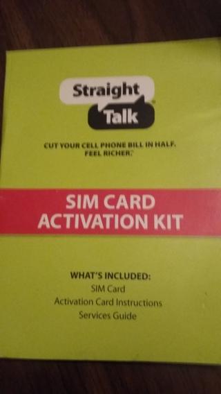 NEW Straight Talk Micro Sim Card