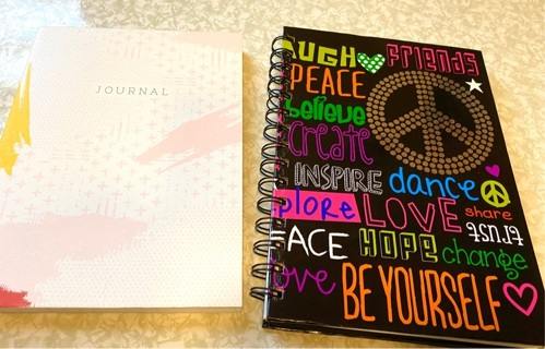 New Journal,  and Pre owned note book