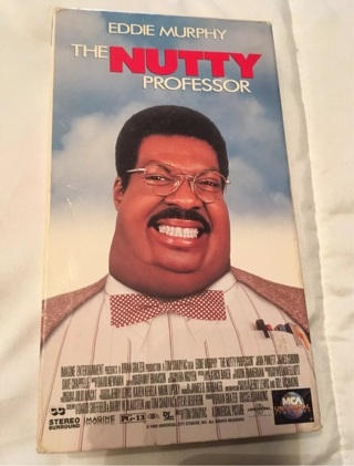 The Nutty Professor VHS 1996