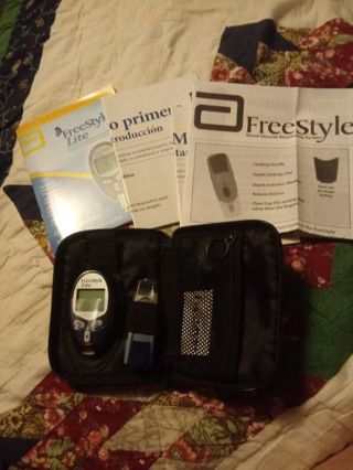 New FreeStyle Lite Blood Glucose Monitoring System