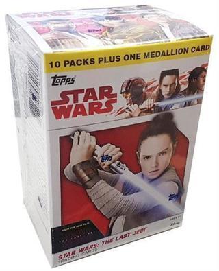 Topps Star Wars The Last Jedi Trading Cards Blaster Box Factory Sealed – With A High Bid Bonus
