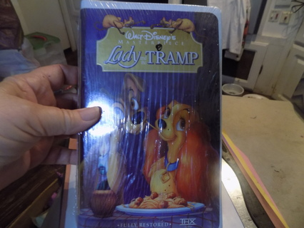 Disney's Lady and the Tramp VHS tape New
