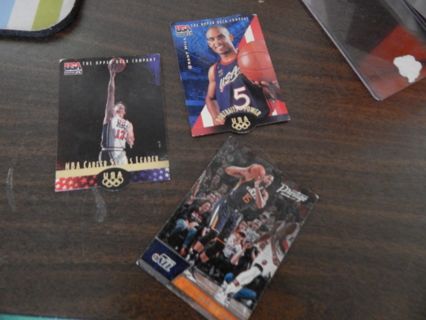 Set of 3 Fantastic Basketball cards-Good to FAIR condition!