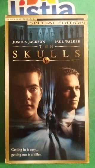 VHS movie  the skulls  free shipping