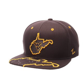 West Virginia NCAA Men's  Stateline & Dallas Cowboy Snapback Cap
