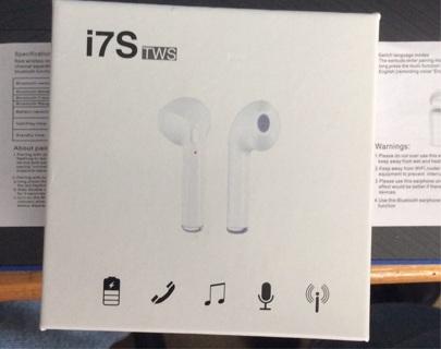 Bluetooth Wireless Earbuds (White)