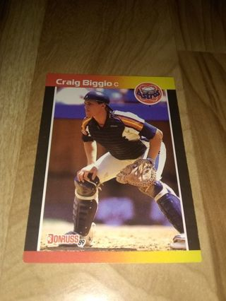 Craig Biggio RC - MLB Catcher/2B