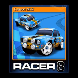 Consort Mk2 , Racer 8 - Steam trading card