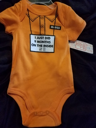 Free Brand New W Tags Baby Swiggles Onesie Quot I Just Did 9