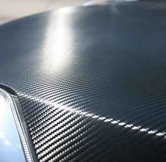 3d Black Carbon Fiber Vinyl Wrap