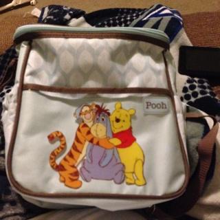 Winnie The Pooh Diaper Bag New