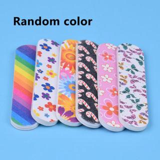 10PCS/Lot Sanding File Buffer Nail Art Tips Salon Manicure UV Gel Polisher Tools
