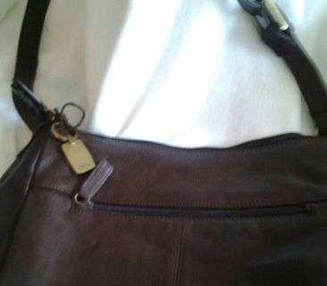 Free Rolfs Brown Leather Purse