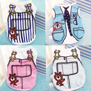 Small Pet Dog Apparel Vest Puppy Cat Coat Clothes T-shirt Summer Vest