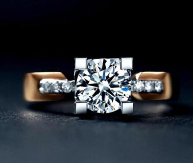 2018 Fashion Jewelry white Sapphire Silver Filled Wedding Ring Gift Size 6-10