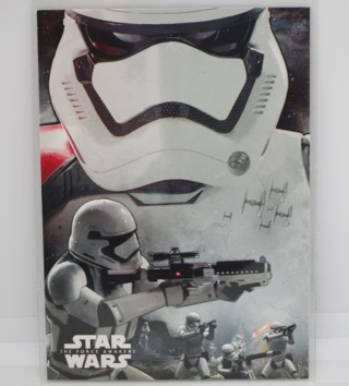 Topps - Star Wars The Force Awakens - Montage Card - Stormtrooper #8