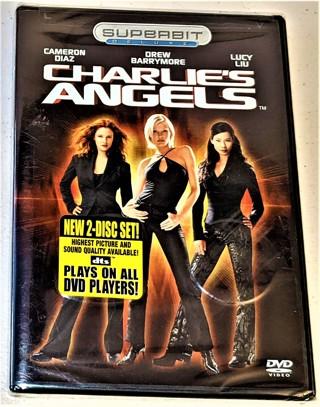 2003 CHARLIE'S ANGELS DVD - Cameron Diaz, Drew Barrymore, Lucy Liu - Sealed/unviewed NIP
