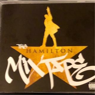 "Very Gently Used: ""THE HAMILTON MIX TAPE"" With Liner Notes & Lyrics. EUC!!"