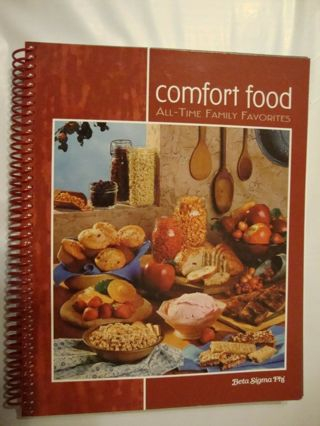 Beta Sigma Phi Sorority Comfort Food Cookbook 2007 All Time Family Favorites