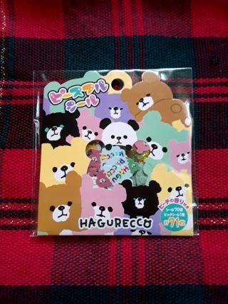 "Mind Wave ""Hagurecco"" Sticker Sack ☆Kawaii Bonus☆ **Only One!!**"