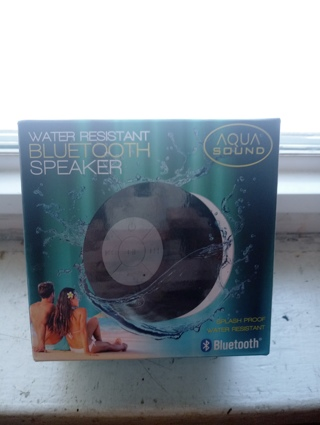 AQUA SOUND SPEAKER WATERPROOF BLUETOOTH