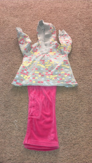 3T girl baby gap old navy outfit