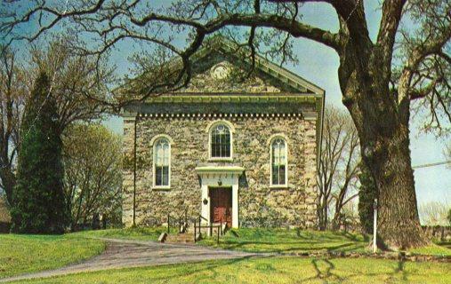 Vintage Unused Postcard: Brandywine Baptist Church, Chadds Ford, PA