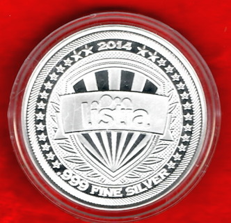 1 Ounce 999 Fine Silver Rare Highly Collectible Coin 2014