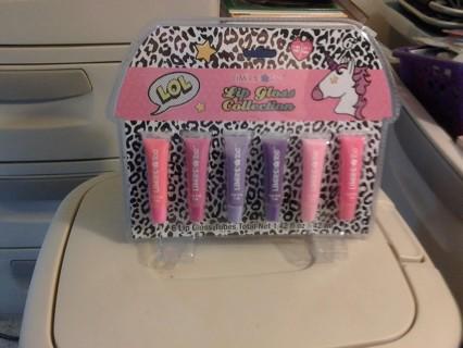 Lip Gloss Gift Set 6 PC
