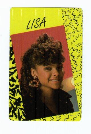Random Lisa Card
