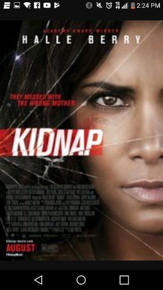Kidnap hd Vudu/ UltraViolet movie