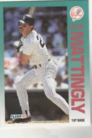 1992 Fleer Don Mattingly Card #237 New York Yankees MLB NM-MT