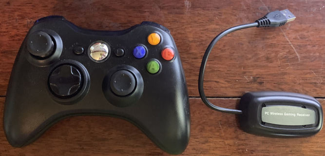 *NEW* Wireless Xbox 360 Controller with receiver for PC
