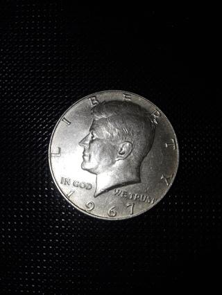 1967 Kennedy Half Dollar - 40 Percent Silver Half