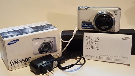 LIKE NEW! SAMSUNG WB350F 16.3MP CMOS Smart WiFi & NFC Digital Camera With 21x Optical Zoom & More...