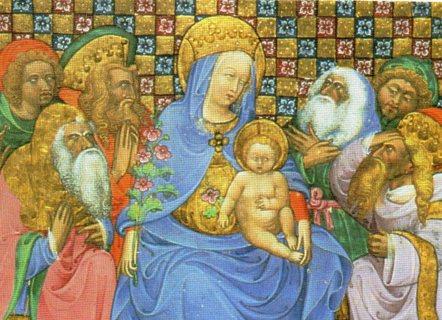1997 Art Treasures of the Vatican Library Trade Card: Matthew