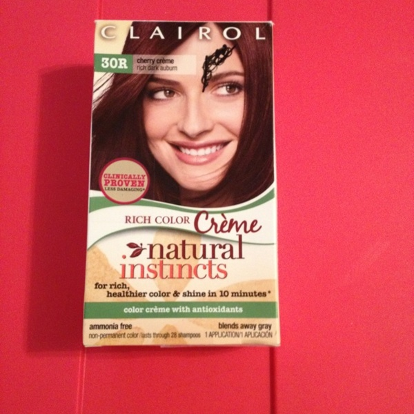 Free Clairol Hair Color Natural Instincts Cherry Creme Temporary