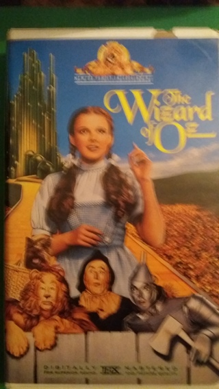 vhs the wizard of oz free shipping