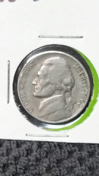 1960-D Jefferson Nickel