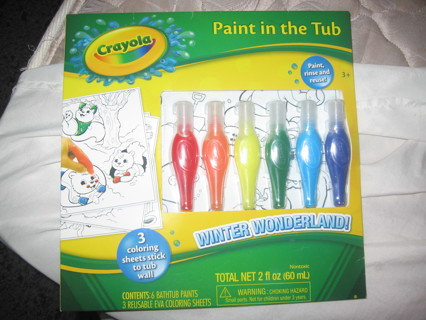 Free Crayola Paint In The Tub Skincare Bath Amp Body