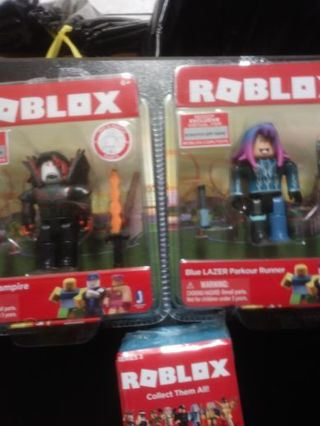 New 3 roblox hunted vampire.blue lazer parkour runner and mini collect them all