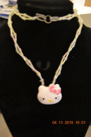 15a315344 Free: ****CHILD'S STRETCHABLE HELLO KITTY NECKLACE***FREE SHIPPING ...