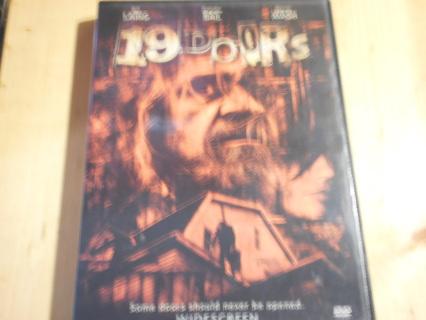 19 DOORS (horror DVD)