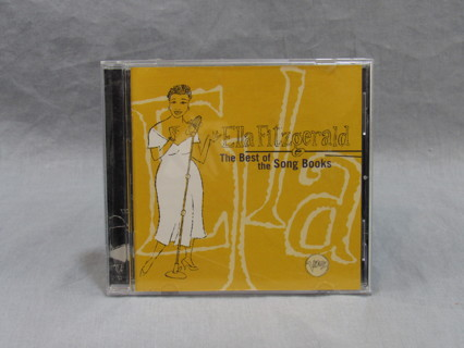 Ella Fitzgerald cd The Best of the Song Books 1993 Release 16 Songs